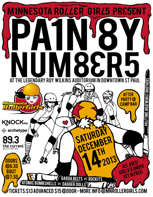 PAIN BY NUMBERS