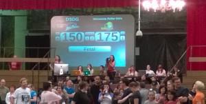 Final Score.  MN 175 ATL 150